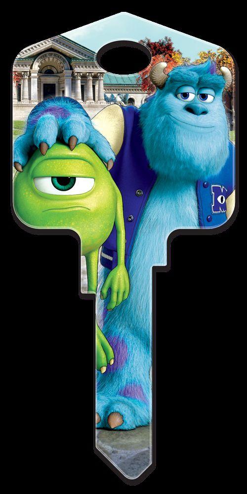 Disney Mike & Sulley Key Blank - WR3