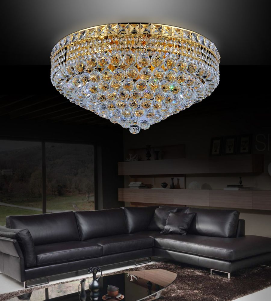 crystal world inc suspension ronde de 24 po home depot canada. Black Bedroom Furniture Sets. Home Design Ideas