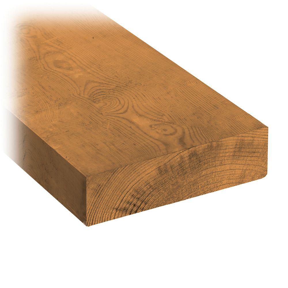 2 x 6 x 8' Treated Wood