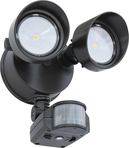 Lithonia lighting 2 head led motion light the home depot canada 2 head led motion light aloadofball Choice Image