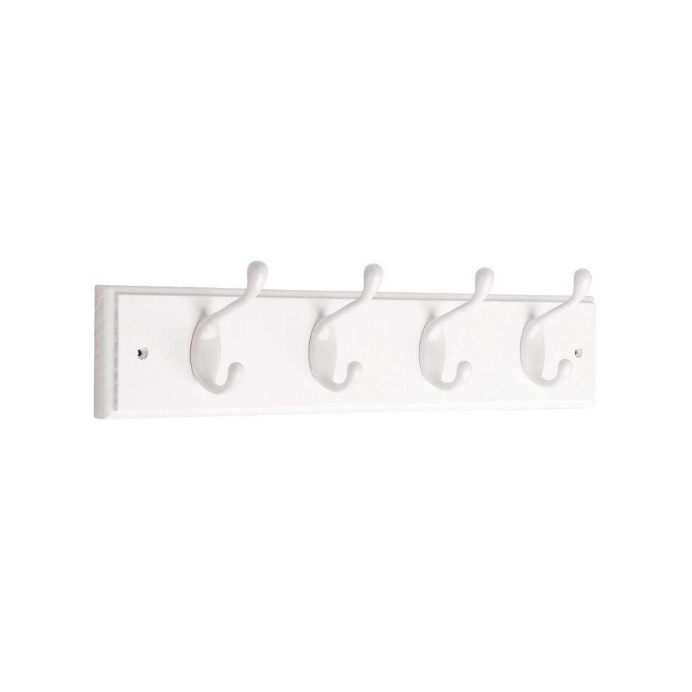 18 in.  Rail w/4 Heavy Duty Hooks PWW