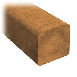MicroPro Sienna 4 x 4 x 8' Treated Wood