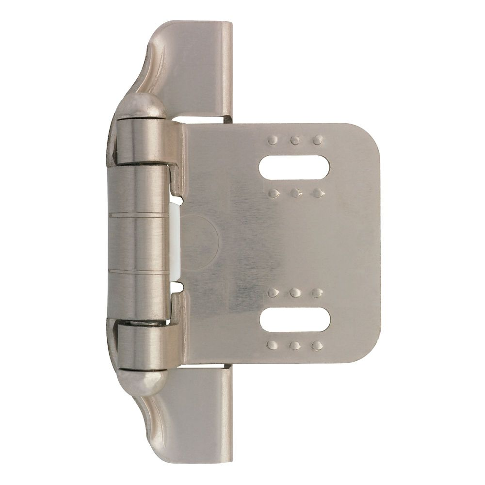 1/4 inch Semi-Wrap Overlay Hinge (2 in Package)