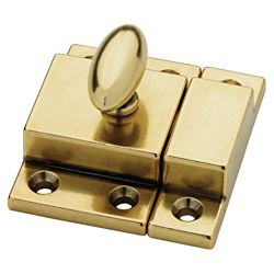 Martha Stewart Living Bedford Brass Matchbox Catch