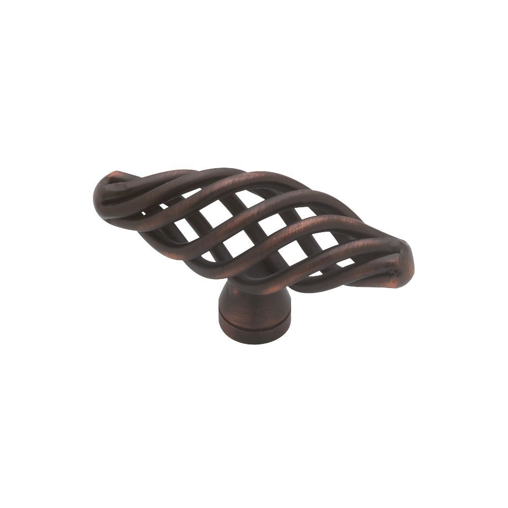 Knob, Small Oval Birdcage Design, 50mm