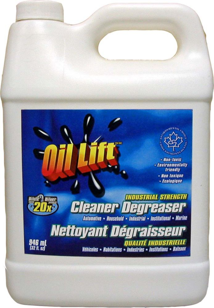 948 ml, Industrial Strength Concentrated Non-Toxic Cleaner-Degreaser