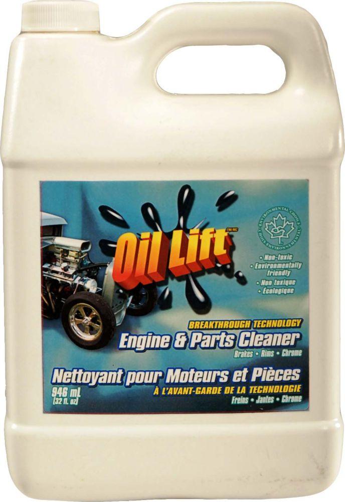 948 ml, Nettoyant pour moteurs et pièces, formule concentrée industrielle, non-toxique
