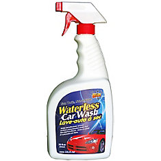 948 ml, Industrial Strength Non-Toxic Waterless Car Wash