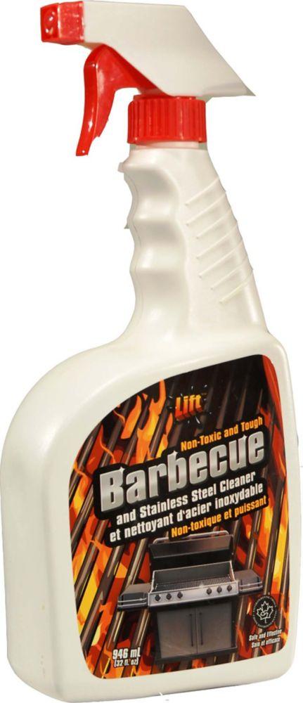 948 ml, Nettoyant pour barbecue et acier inoxydable, non-toxique et puissant