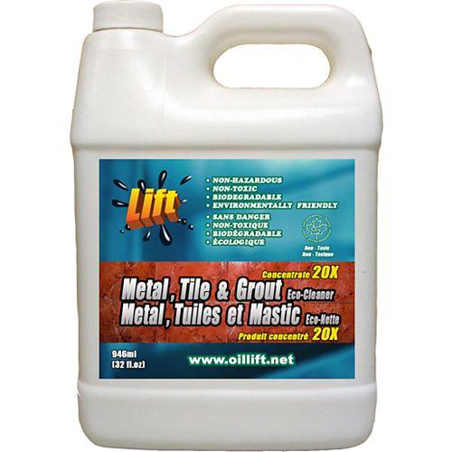 Oil Lift 948 ml, puissant NETTOYANT écologique pour MÉTAL, TUILES ET MASTIC