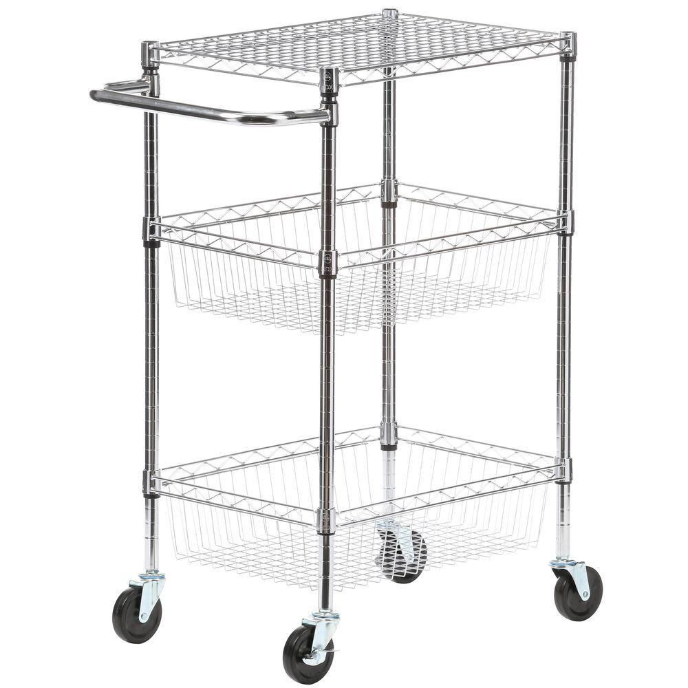 Mobile Cart With Casters