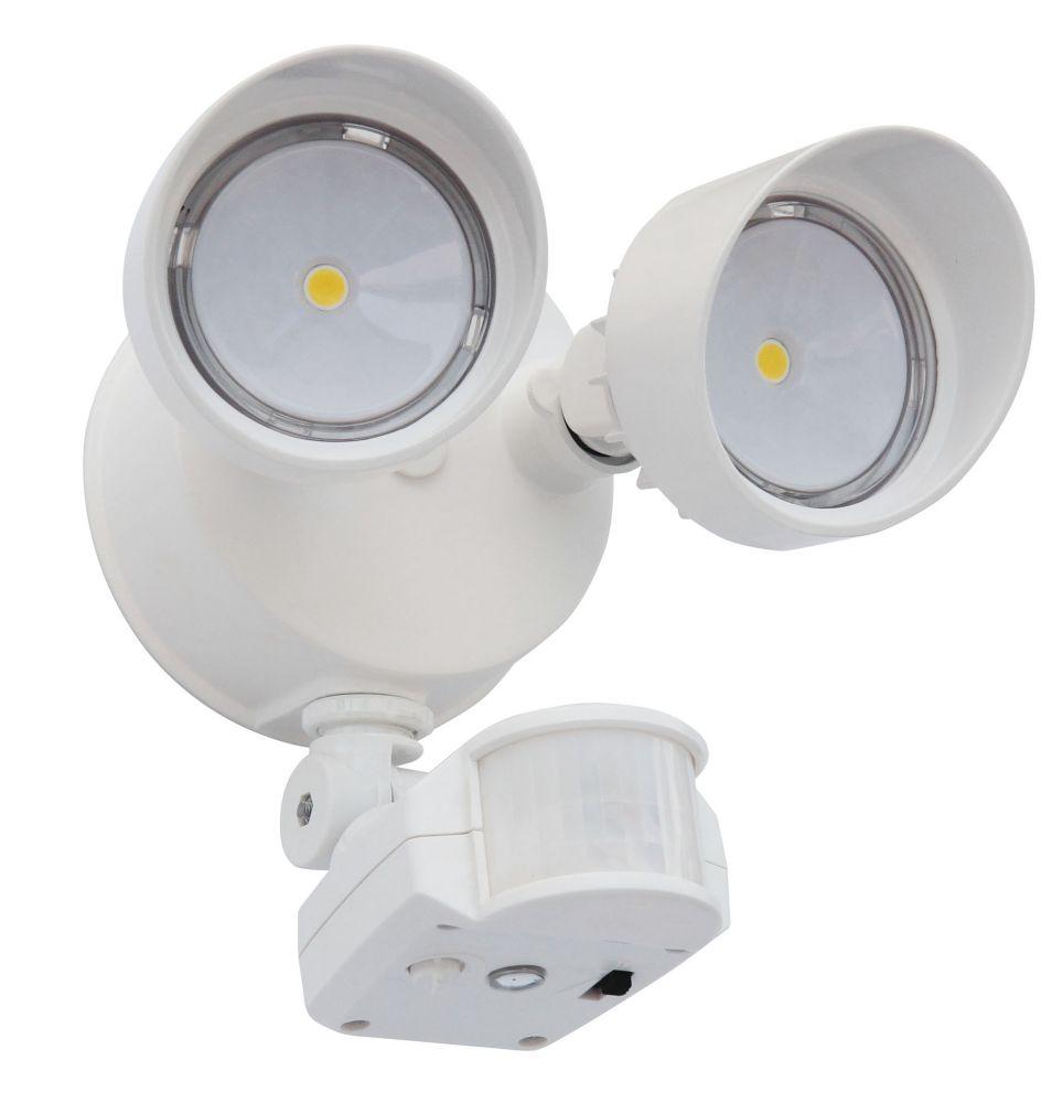 Luminaire DEL, à détecteur de mouvement