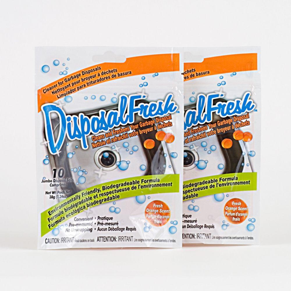 DisposalFresh� Garbage Disposal Cleaner & Refresher - 2 Pack