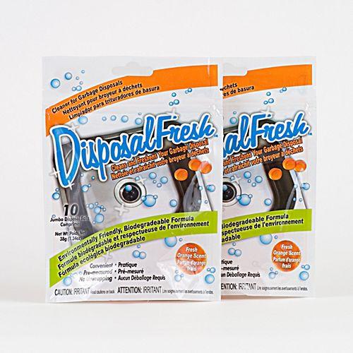 Fresh Productz DisposalFresh Garbage Disposal Cleaner & Refresher - (2-Pack)