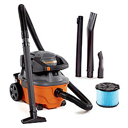 15 L (4 gal.) 6 Peak HP Wet Dry Vacuum with Detachable Blower