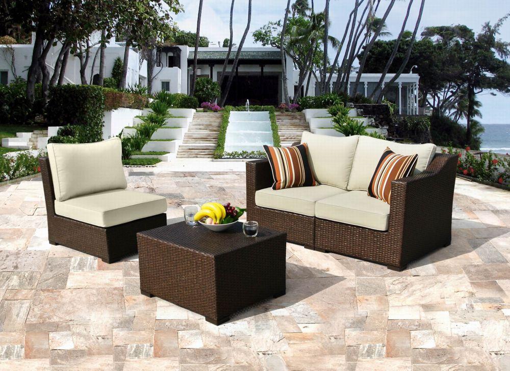 Settina Modular 4-Piece Outdoor Seating Set
