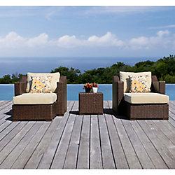 Sirio Settina 5-Piece Outdoor Club Chair Set