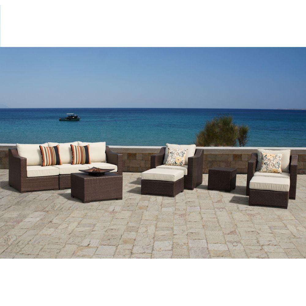 9-Piece Settina Modular Outdoor Estate Collection