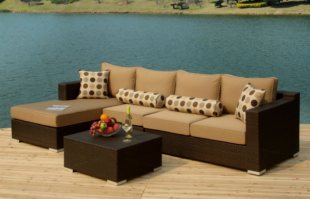 Persol 4-Piece Patio Seating Set