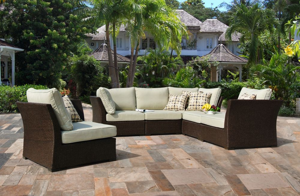 6-Piece Oreanne Modular Outdoor Seating Set