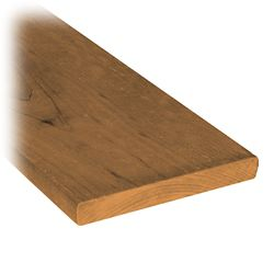 MicroPro Sienna 1 x 6 x 5' Treated Wood Fence Board