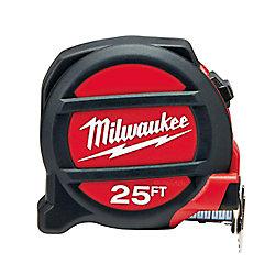 Milwaukee Tool Ruban à mesurer non aimanté de 25 pi