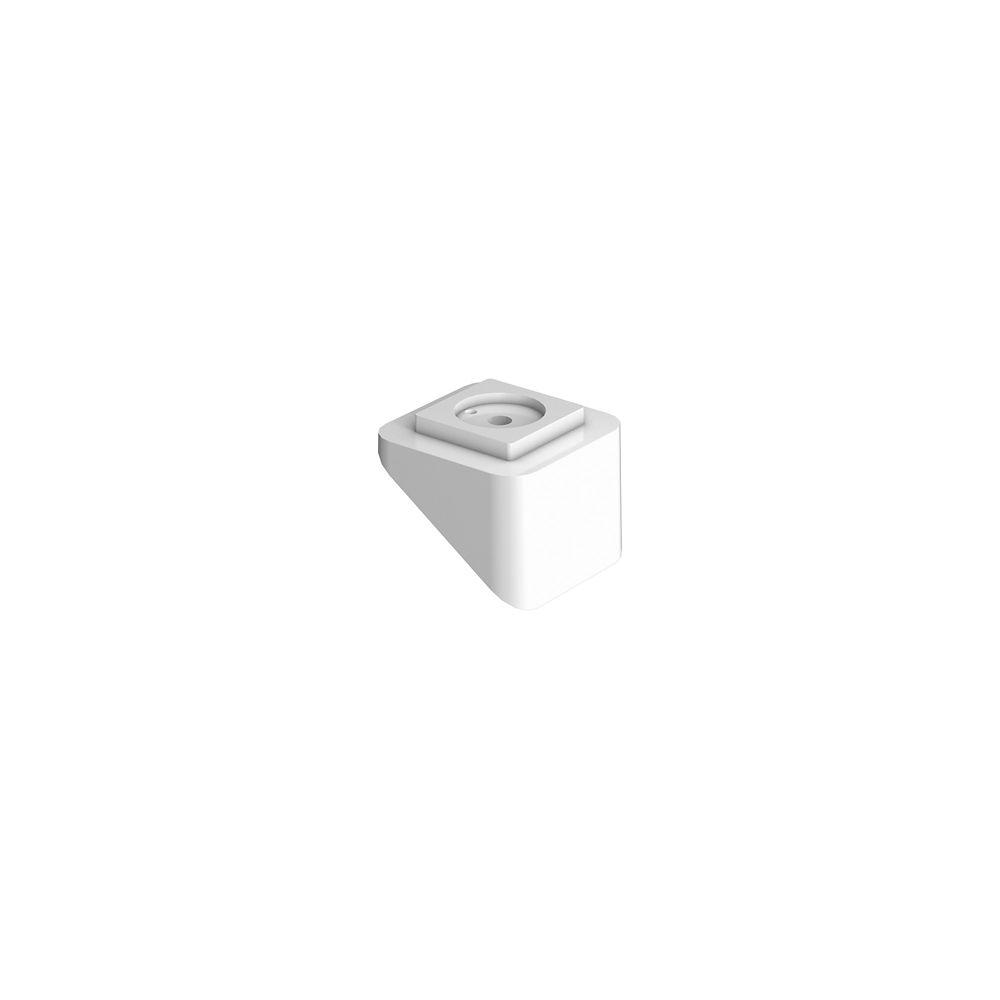 Adaptateurs pour Balustre d'Escalier - 10/paquet - Rampe - Blanc