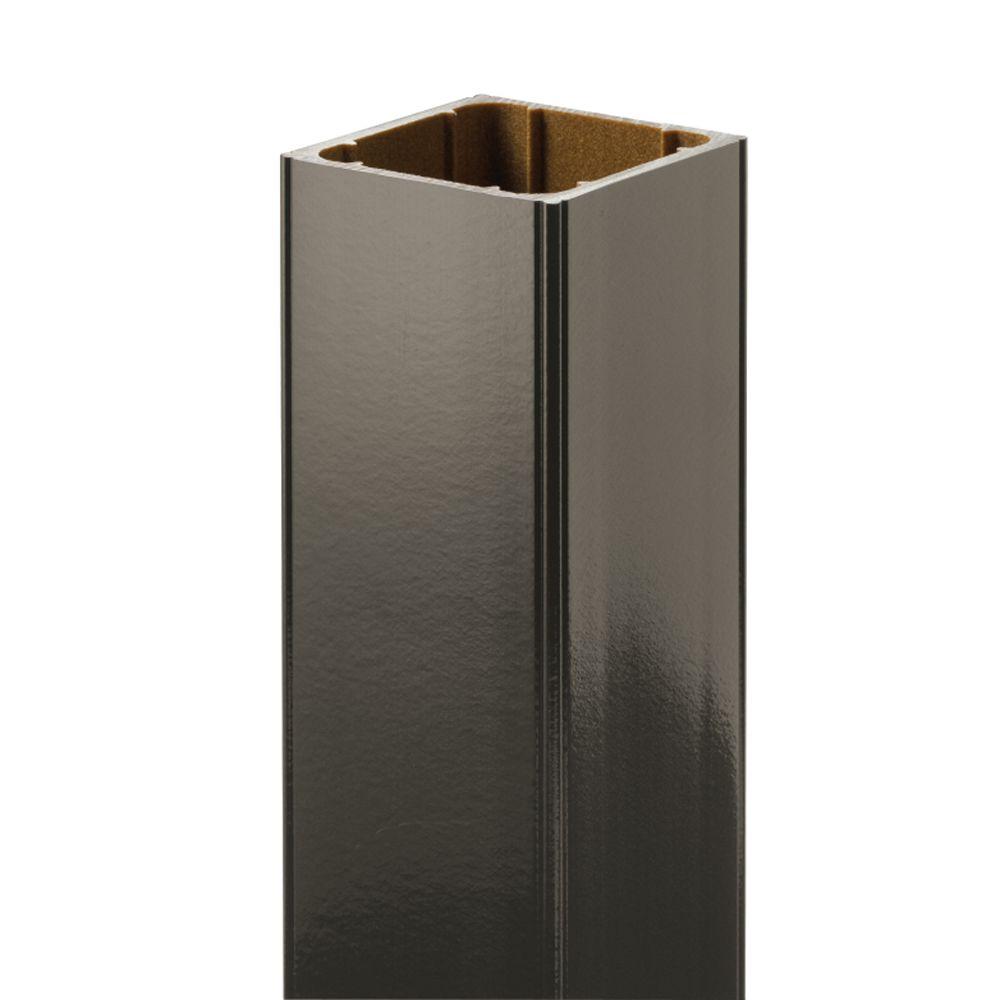 48 Po. - Manchon de poteau HP - Rampe - Bronze
