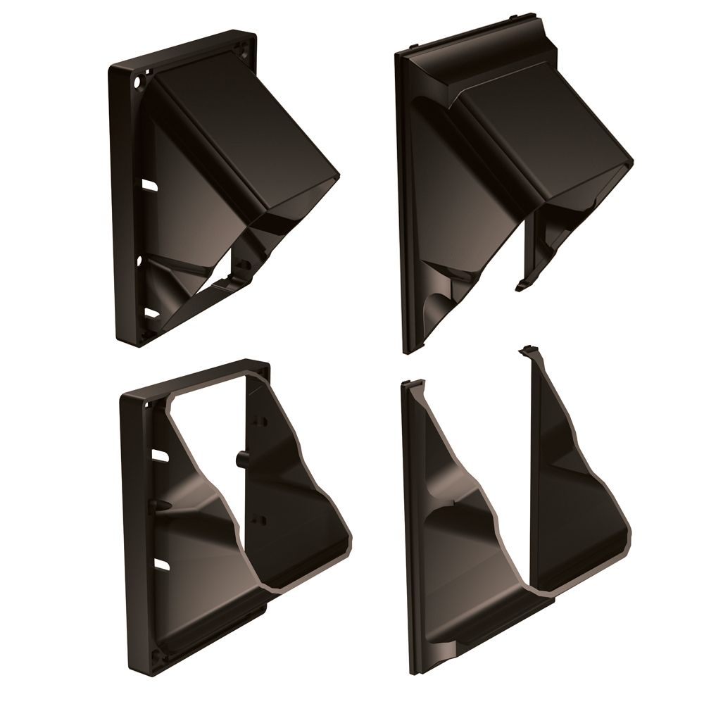 HP Architectural Stair Rail Connectors - 4 Pack - Railing - Bronze