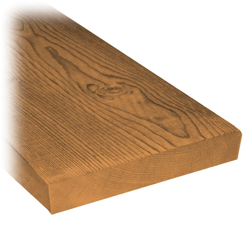 MicroPro Sienna 2 x 10 x 8' Treated Wood