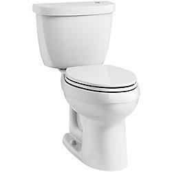 KOHLER Cimarron 4.8 LPF 2-Piece Elongated Bowl Toilet in White