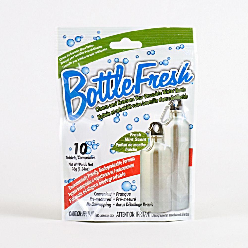 Nettoyant rafraîchissant pour bouteilles d'eau BottleFreshMC de