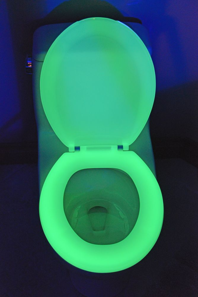 200 Green Round Glow in the Dark Toilet Seat NG200 GREEN Canada Discount