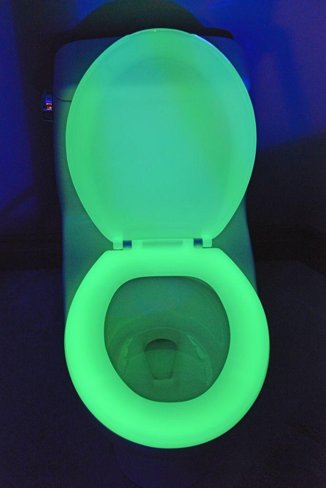 Siège de toilette rond vert 200