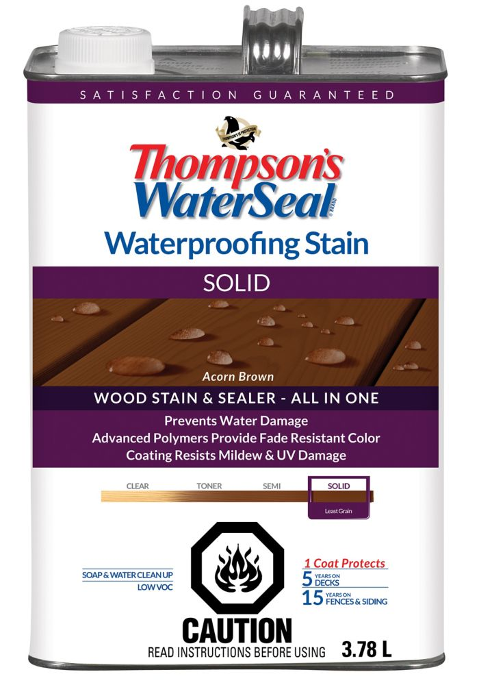 WP Stain SOLID - Acorn Brown