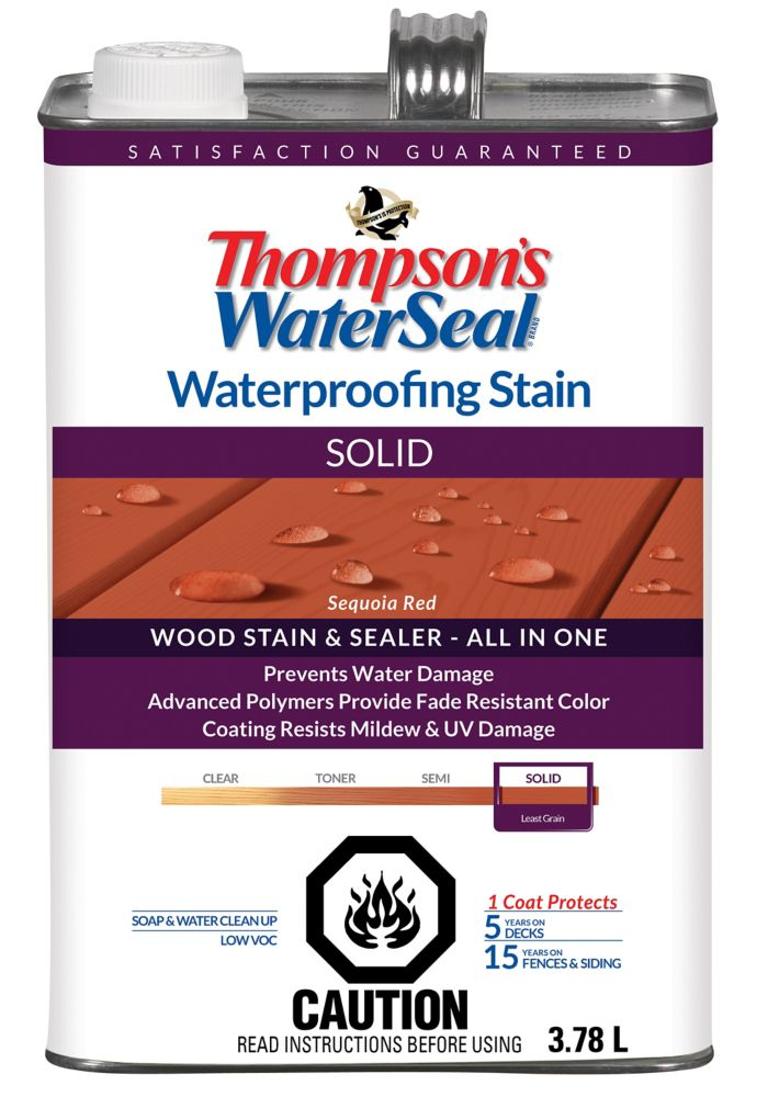 WP Stain SOLID - Sequoia Red