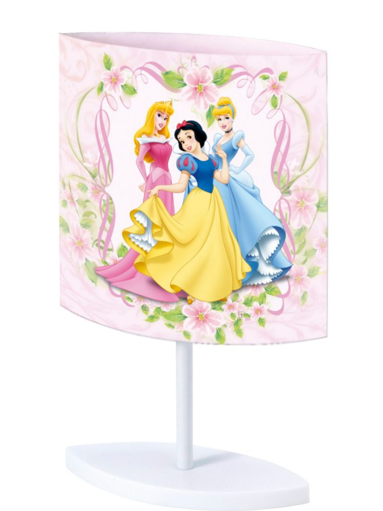Disney Princess Oval  Polypropylene Table Lamp