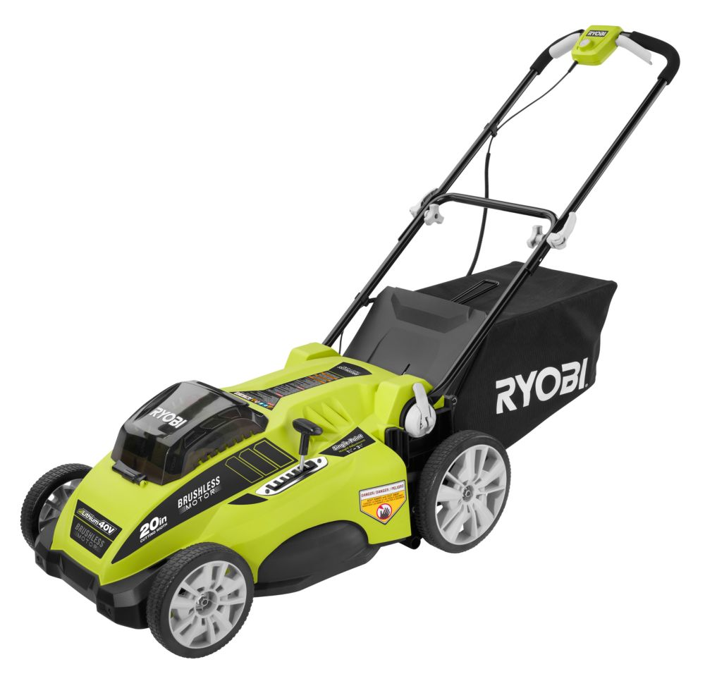 20-inch 40V Brushless Lawn Mower