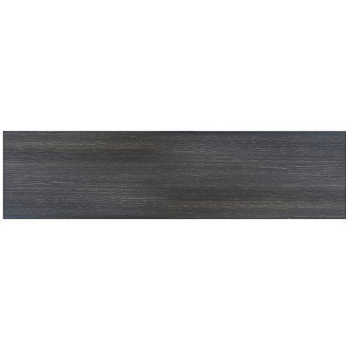 Eurostyle Leeds - Drawer front 30 inch x 7 inch - Melamine Steel