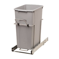 Real Solutions 35qt Bin Soft-Close Recycling Center