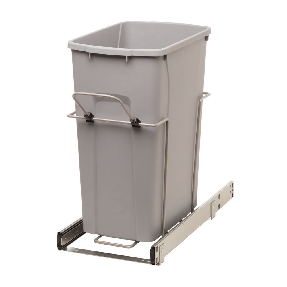 35qt Bin Soft-Close Recycling Center