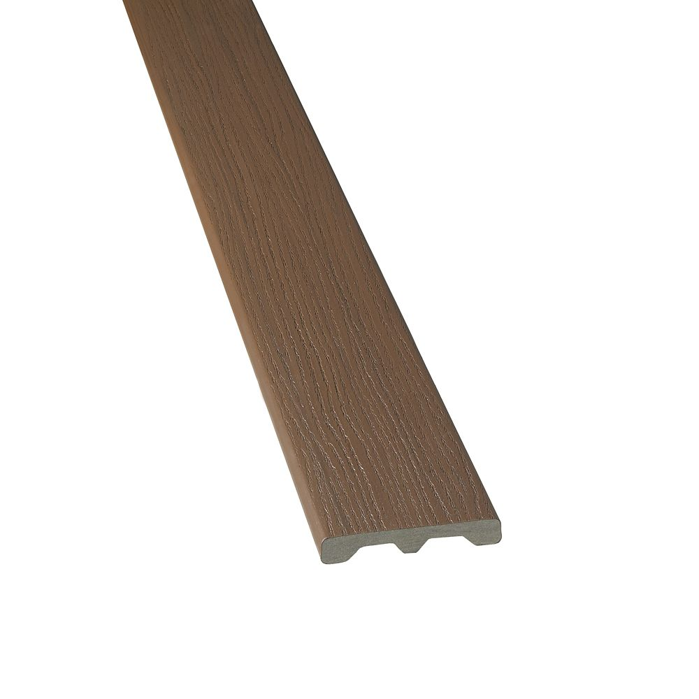 12 Ft. -  HP Tropics Composite Capped Solid Decking - Bali Brown