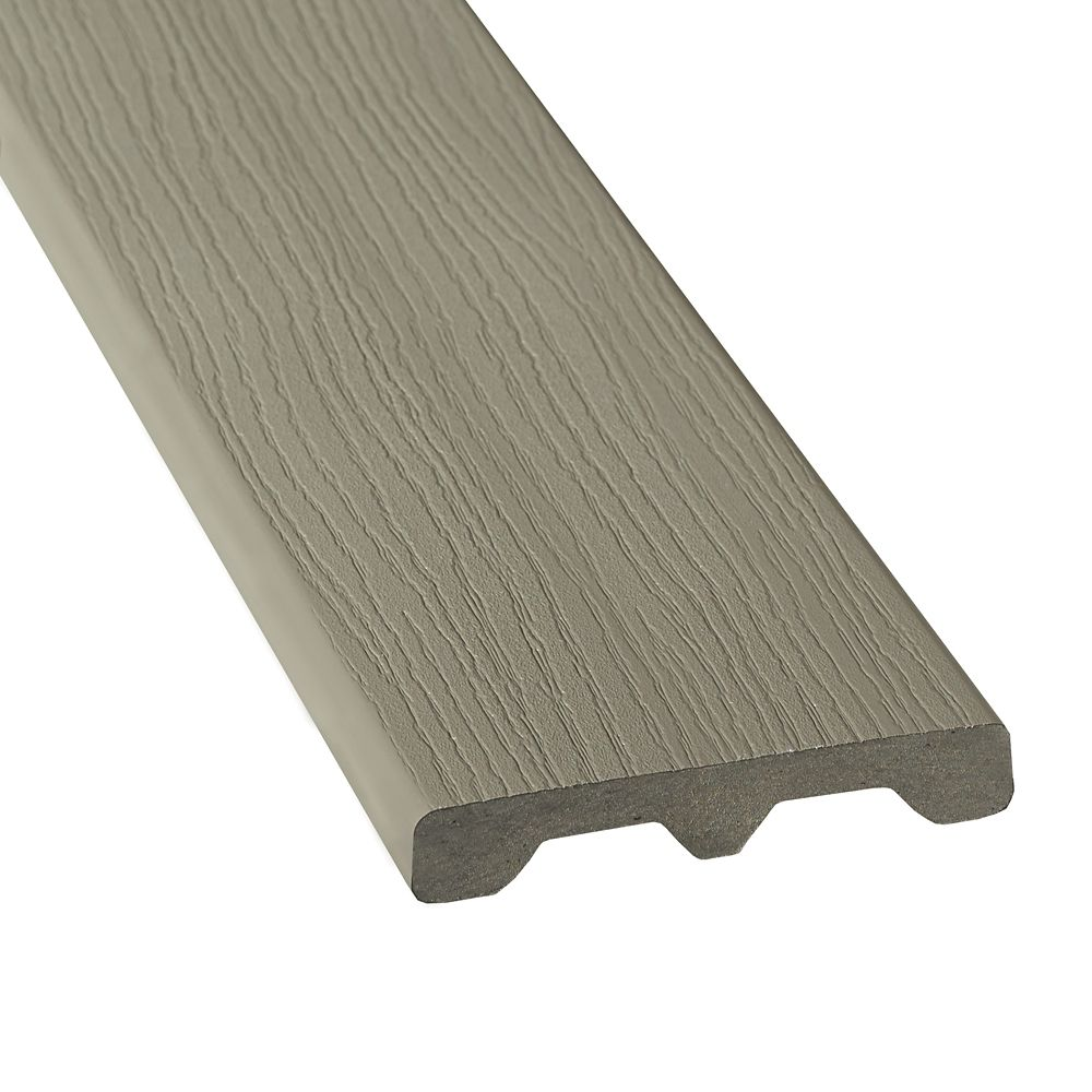 12 Ft. - HP Composite Capped Solid -  Gray