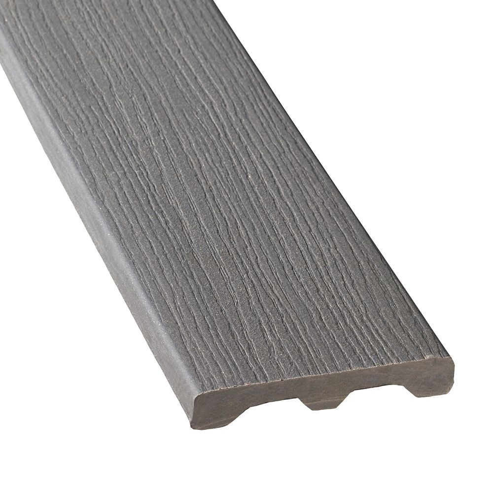 12 Ft. - Composite Solid Decking - Gray