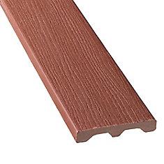 12 PI - Revêtement en Composite Solide - Redwood