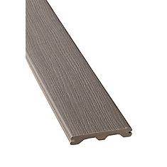 20 Ft. - Composite Grooved Decking - Grey