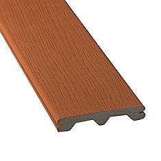 20 PI - Revêtement en Composite Rainuré - Redwood