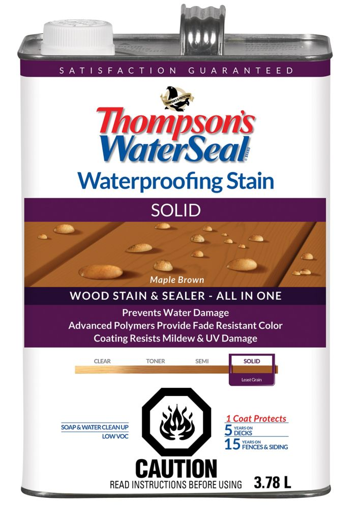 WP Stain SOLID - Maple Brown