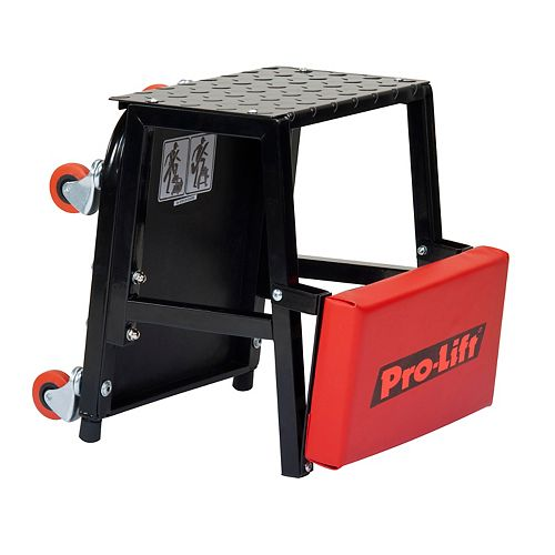 Pro-Lift 2-In-1 Creeper Seat And Stepstool