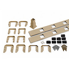 6 Ft. - Infill Rail Kit for Square Balusters - Stair - Rope Swing